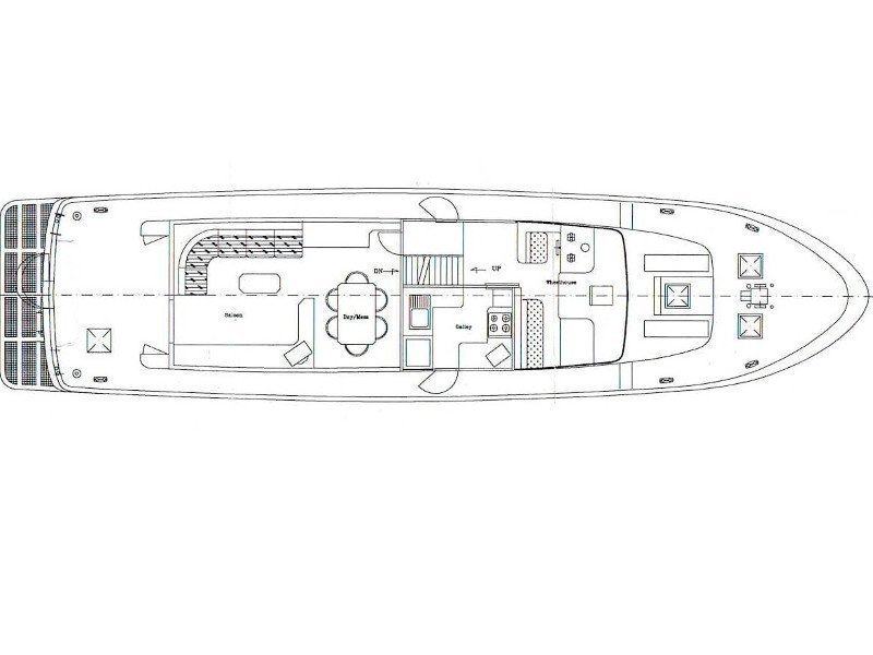 CCYD M/Y Blanka (LIMITED EDITION⎟Fully Crewed⎟PREMIUM with AC) Plan image - 12