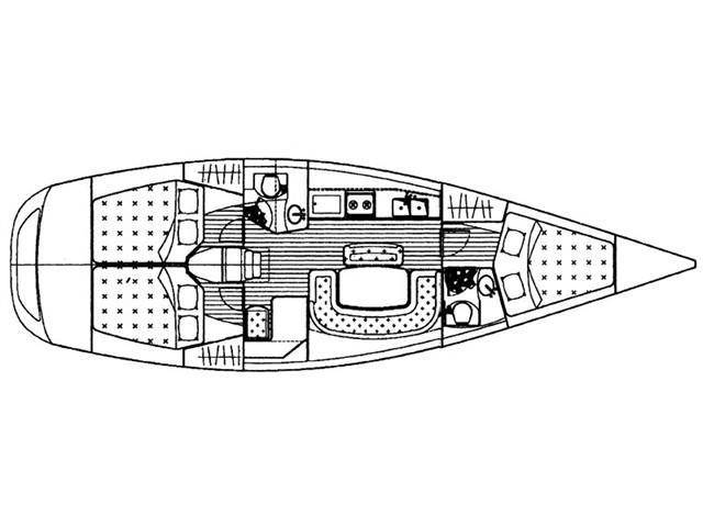 Grand Soleil 40 (Nina) Plan image - 4