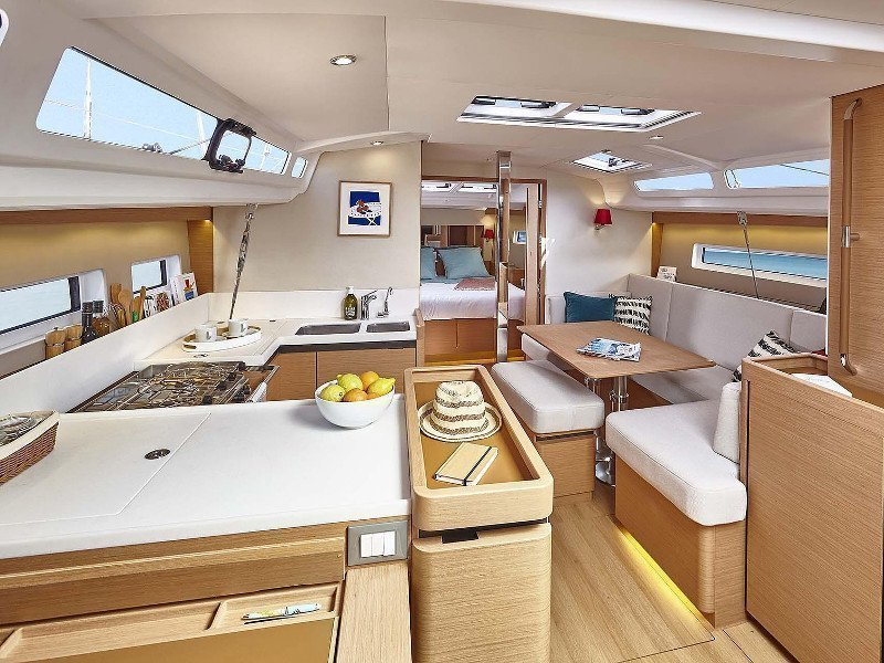 Sun Odyssey 440 (SO440-18-P) Interior image - 2
