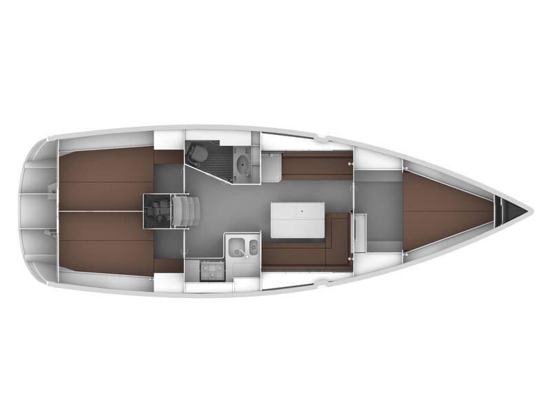 Bavaria Cruiser 36 (Playmate) Plan image - 6