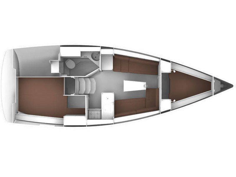 Bavaria Cruiser 33 (Sunny) Plan image - 6