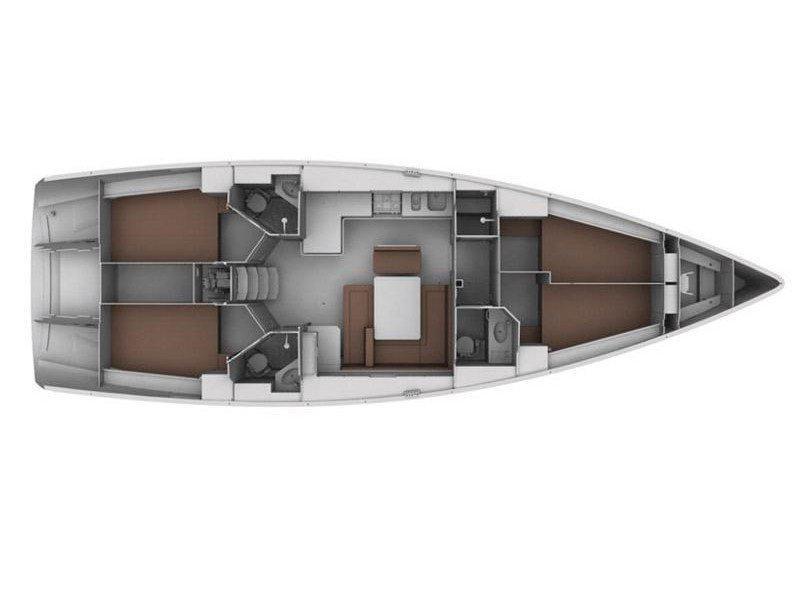 Bavaria Cruiser 45 (Provence) Plan image - 12