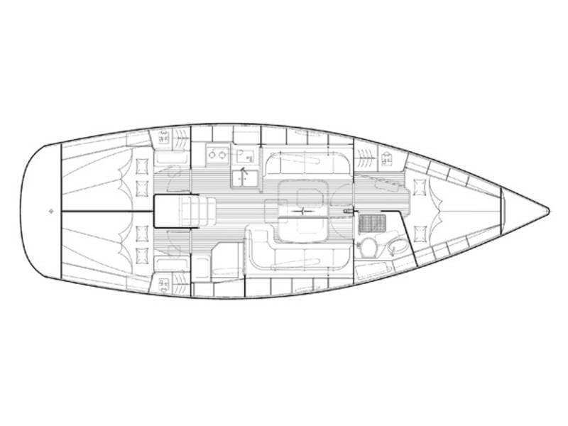 Bavaria 38 Cruiser (Matilde) Plan image - 8