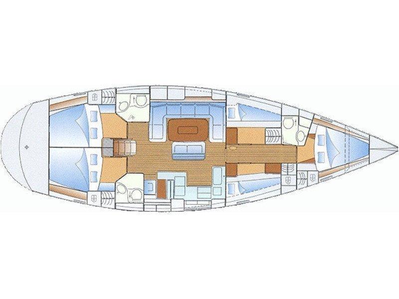 Bavaria 50 (Esja) Plan image - 1