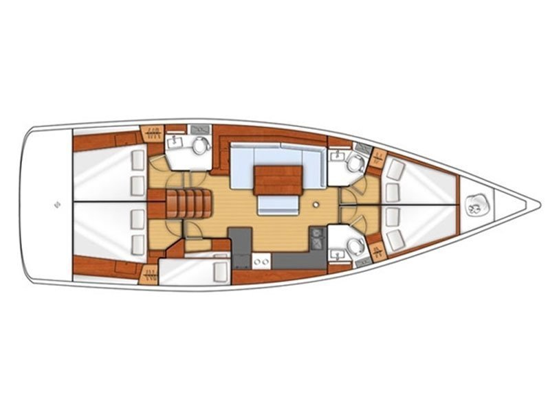 Oceanis 48 (ROSALIA) Plan image - 20