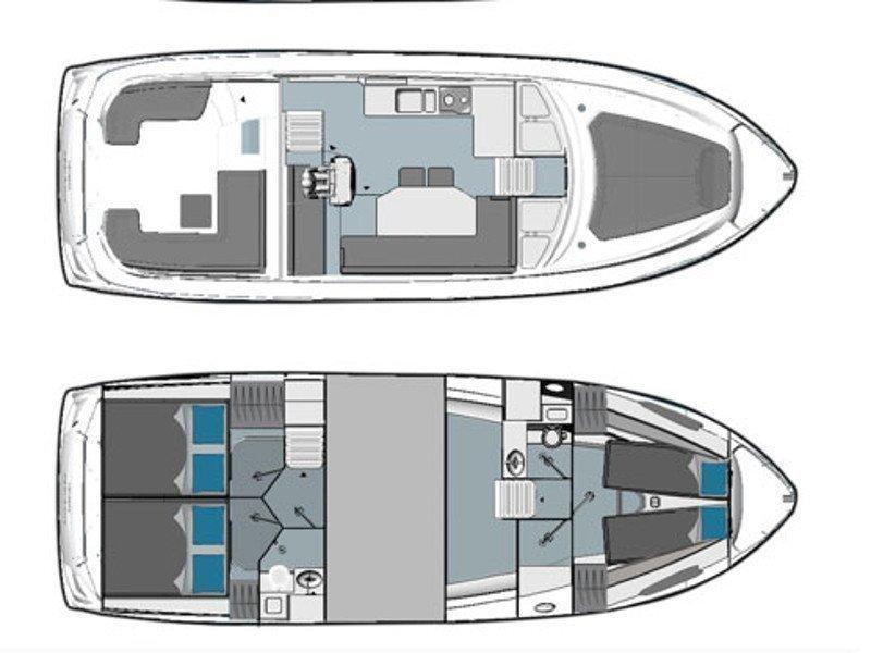 Bavaria E40 Fly (Aquatic Vita) Plan image - 6