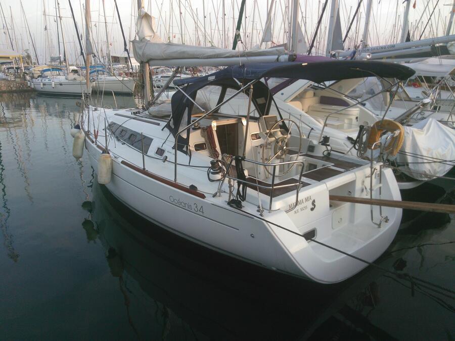 Oceanis 34 (Mamma mia) Main image - 0