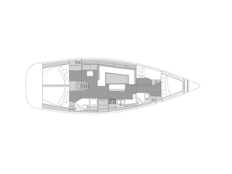 Elan Impression 45.1 (with AC) Interior image - 2