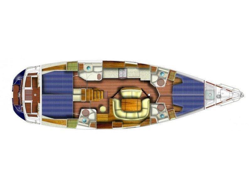 Sun Odyssey 49 (Altea) Plan image - 7