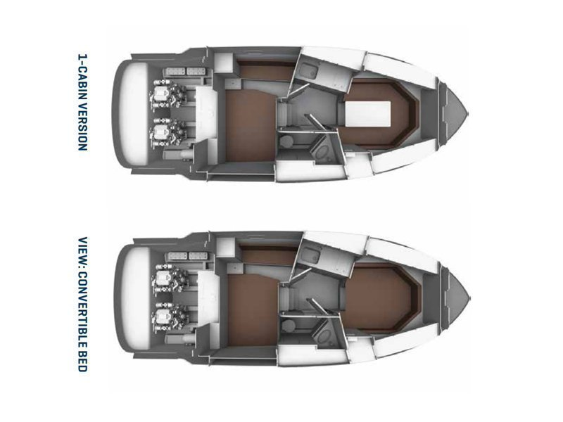 Bavaria S29 OPEN (Spirit of St. Tropez) Plan image - 7