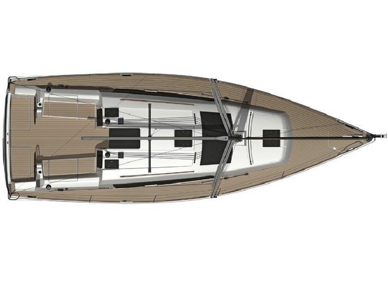 Dufour 382 GL (Calypso) Plan image - 2