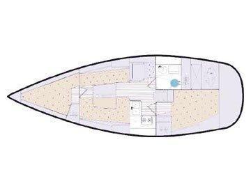 Elan 333 (KADULJA) Plan image - 7