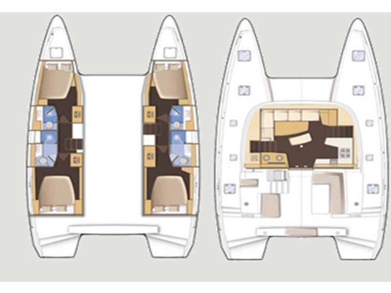 Lagoon 42 (GINGER 1) Plan image - 13