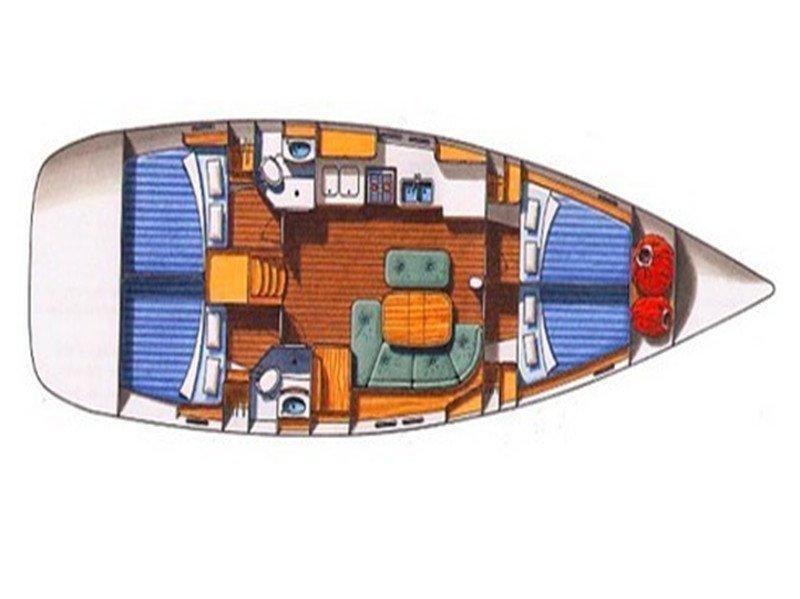 Oceanis 45 (MAVERICK I) Plan image - 11