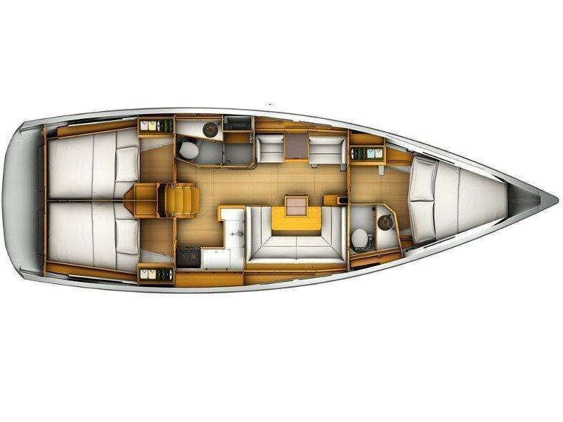 Sun Odyssey 409 (ath40902) Plan image - 8
