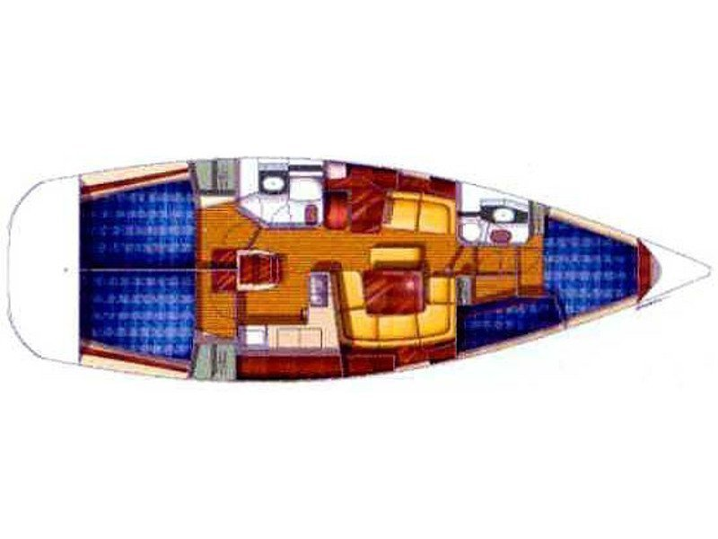 Sun Odyssey 43DS (ath43ds04) Plan image - 2
