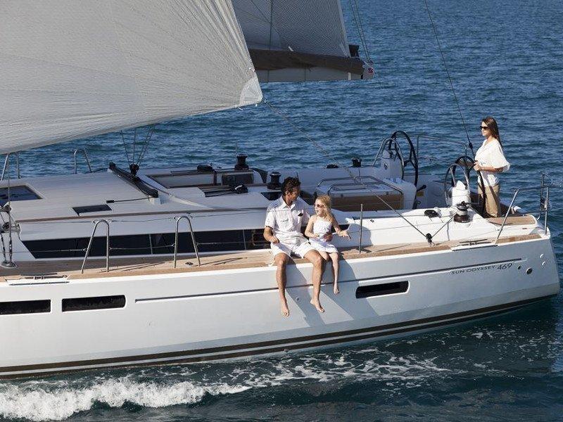 Sun Odyssey 469 - Skippered (ath46902)  - 5