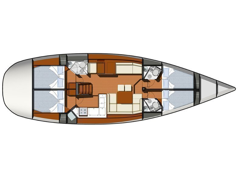 Sun Odyssey 50DS (ath50ds01) Plan image - 10