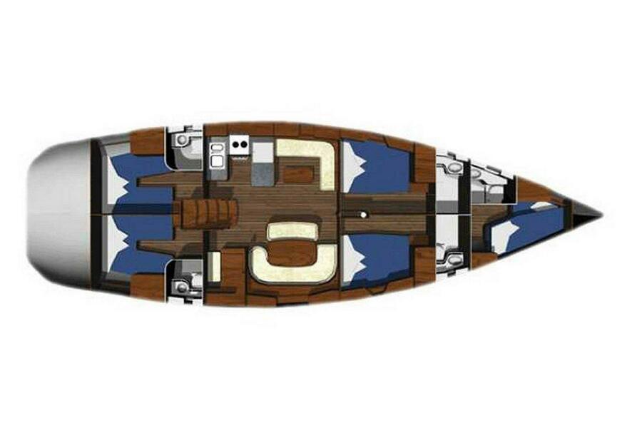 Ocean Star 56.1 (Wind Dueller)  - 12