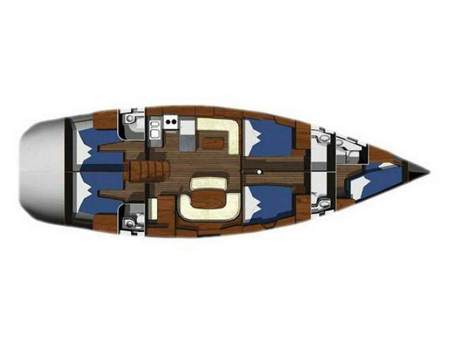 Ocean Star 56.1 (Wind Dueller) Plan image - 2