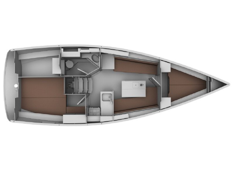 Bavaria 32 Cruiser (Ocean's Black) Plan image - 5