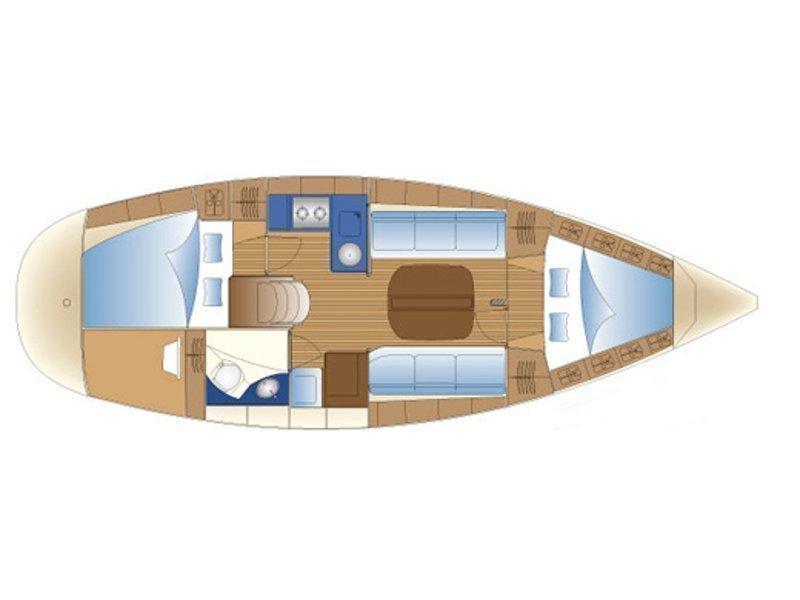 Bavaria 30 Cruiser (Arca) Plan image - 10