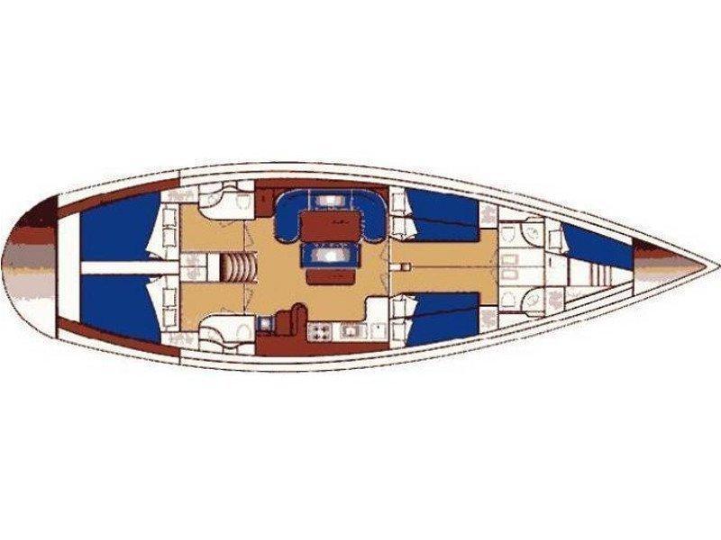 Ocean Star 51.1 (Xenia) Plan image - 5