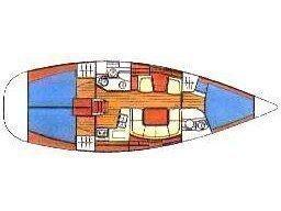 Sun Odyssey 40 (Jelena) Plan image - 2