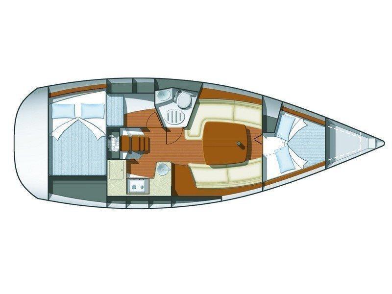 Sun Odyssey 32i (Dahlia) Plan image - 5