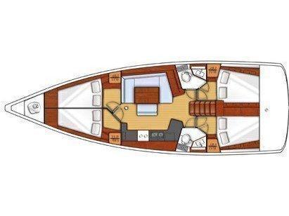 Oceanis 45 (KOS 45.6) Plan image - 2