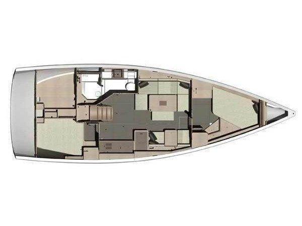 Dufour 310 (Ala Bianca) Plan image - 3