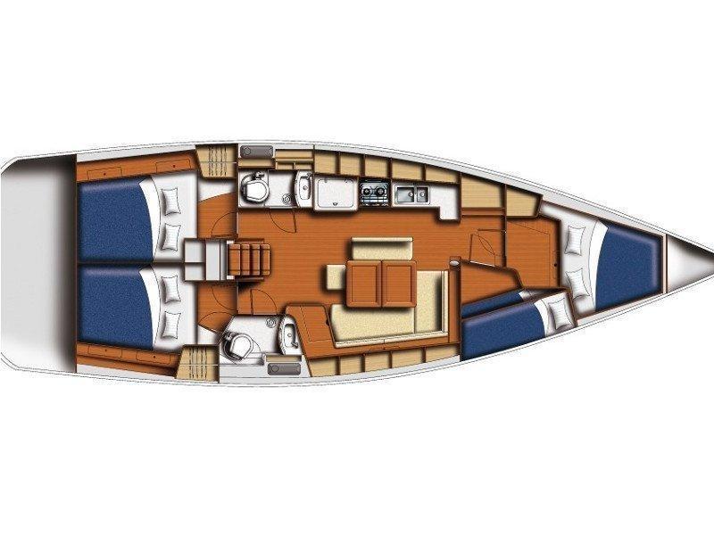 Oceanis 43 (Orsa Maggiore) Plan image - 6