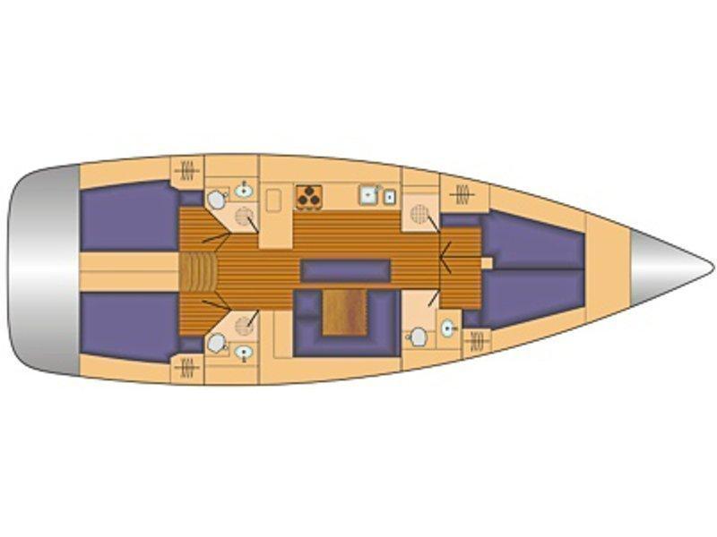 Bavaria Cruiser 45 (iSTONE) Plan image - 7