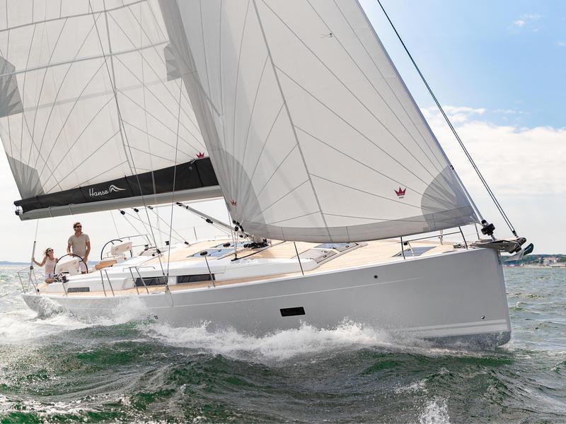 Hanse 458 (Summer wind - BT) Main image - 0