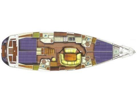 Sun Odyssey 49 (EC -S49-05-I) Plan image - 1