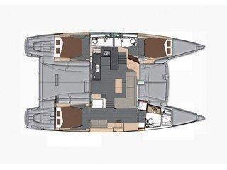 Helia 44 (4 cabs) (Lounge) Plan image - 1