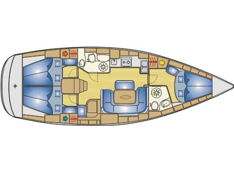 Bavaria 39 Cruiser (Planis) Plan image - 5