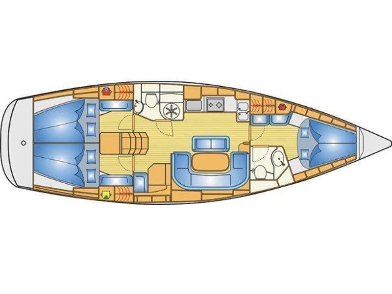 Bavaria 40 Cruiser S (Canenas) Plan image - 4