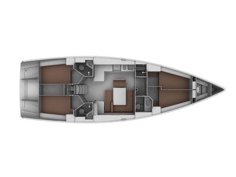 Bavaria 45 Cruiser (Esperos) Plan image - 5