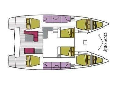Lagoon 50 (Baten Kaitos) Plan image - 5