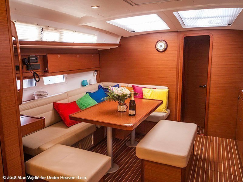 Dufour 460 Grand Large (SULACO (aircondition, generator, blue hull))  - 15