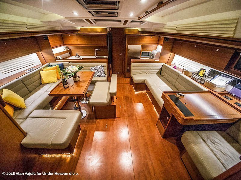 Dufour 560 Grand Large (PETROVICH - fully equipped) Interior image - 22