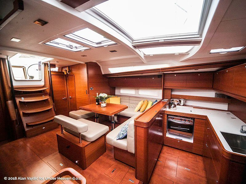 Dufour 56 Exclusive (KAZKA - fully equipped)  - 29