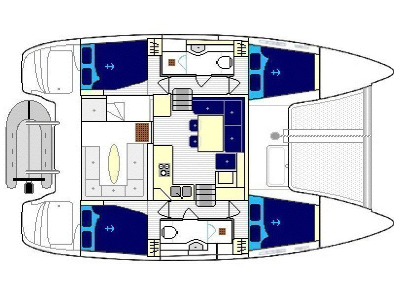 Lagoon 400 S2 (GOA 7) Plan image - 10