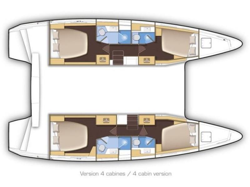 Lagoon 42 (Aero) Plan image - 4
