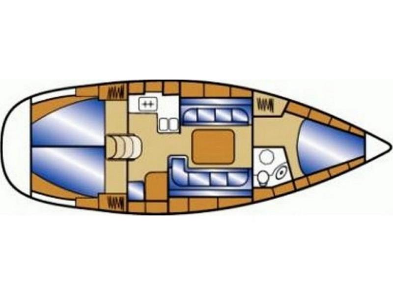 Bavaria Cruiser 37 (AURORA with AC) Plan image - 8