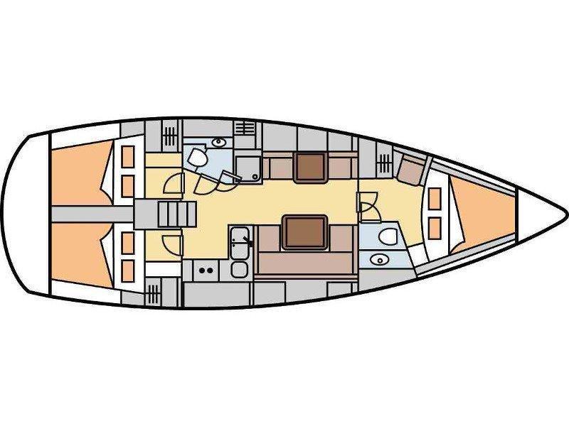 Hanse 400 (Danai) Plan image - 12