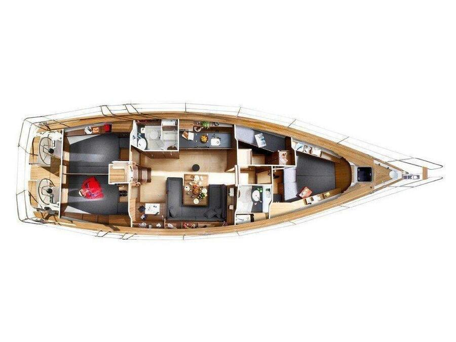 Bavaria 47 Cruiser (Proteas) Plan image - 2