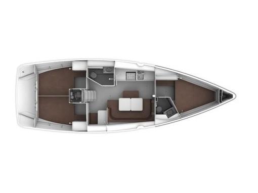 Bavaria Cruiser 41 (CARA MIA) Plan image - 4