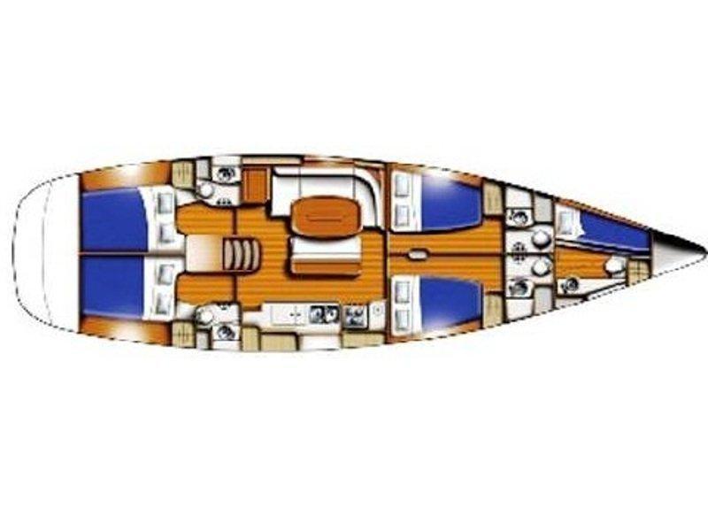 Beneteau 50 (Apollonia) Plan image - 1
